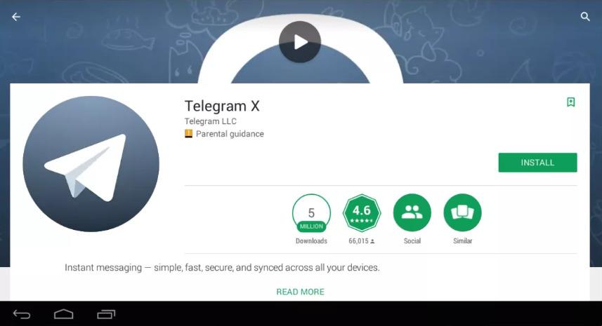 telegram x for pc